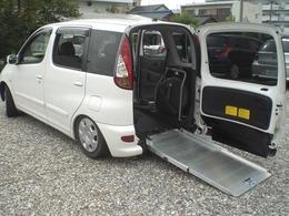 トヨタ ファンカーゴ 1.3 X スロープタイプ 車いす移動車