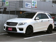 AMG Mクラス の中古車 ML63 4WD 広島県安芸郡府中町 418.0万円