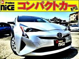 トヨタ プリウス 1.8 S バックカメラ・純正ナビ・BT・安全ブレーキ