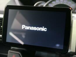 Panasonic9インチSDナビ付きです!地デジフルセグTVの視聴はもちろん、DVD再生、Bluetoothの機能が付いています♪