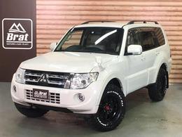 三菱 パジェロ 3.0 ロング エクシード 4WD ロックフォードサウンド 新品AW/タイヤ ETC