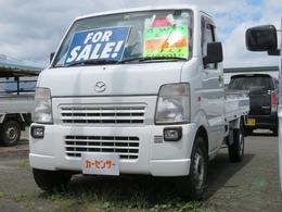 マツダ スクラムトラック 660 KC パワステ 3方開 4WD 5速マニュアル エアコン パワステ付