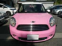 ボディーカラーは、キレイなピンクパールに全塗装しております!