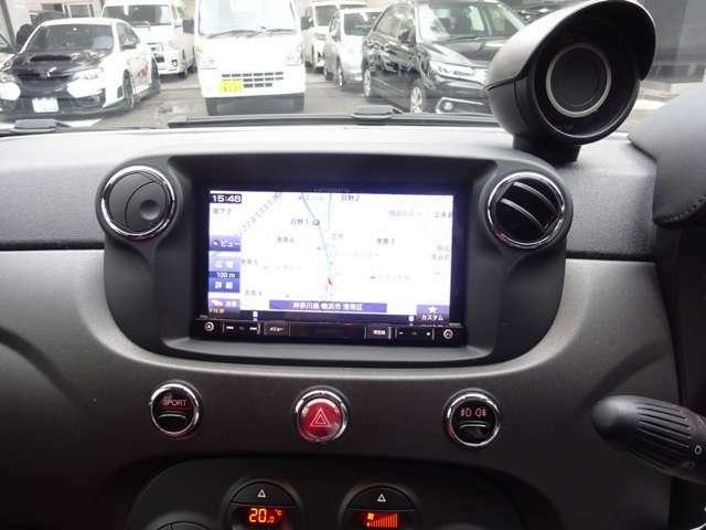 ナビが付いております。初めての道路も安心です! ドライブが、より快適でより楽しいものになります!! フルセグTV CD/DVD再生 Bluetooth 音楽プレーヤー等を接続してもお楽しみ頂けます。