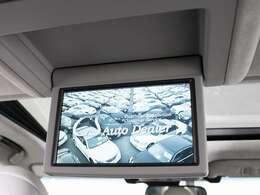 人気装備のリアエンターシステムを装着!9インチワイド画面のフリップダウンモニター搭載!!さらにマークレビンソンプレミアムオーディオ、地デジ、DVD機能もセットオプションにて完備しております。
