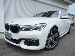 BMW 7シリーズ 740e iパフォーマンス Mスポーツ ブラック革 SR弊社デモカー 認定中古車