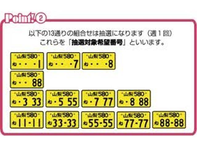 Aプラン画像:格、管轄地域によって抽選になる番号が御座います。