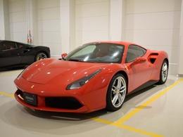フェラーリ 488GTB F1 DCT メーカー保証 7年メンテナンス