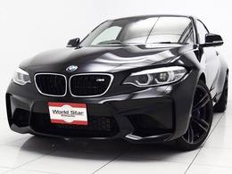 BMW M2クーペ M DCT ドライブロジック セレクトPKG/電動ガラスサンルーフ/禁煙車