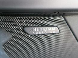 ◆MERIDIANSURROUNDサウンドシステム『コンサートのような臨場感溢れる音響空間を実現します。MERIDIANは英国のプレミアムオーディオブランドです。どうぞ店頭にてご体感ください。』