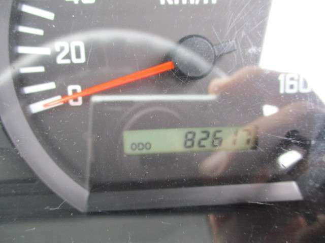 走行82617kmでエンジンも快調!