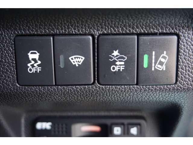 【HondaSENSING】衝突軽減ブレーキ〈CMBS〉、ACC〈アダプティブ・クルーズ・コントロール〉、LKAS〈車線維持支援システム〉、誤発進抑制機能等を統合制御しドライバーのサポートをします!