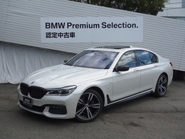 BMW 7シリーズ 740i Mスポーツ サンルーフ黒レザーMパフォーマンス部品