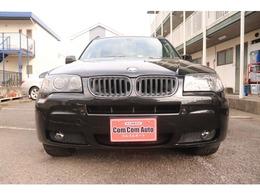 BMW X3 2.5i 25thアニバーサリーエディション 4WD 革シート ナビ ETC