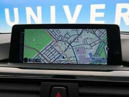 ●BMW純正ナビ:高級感のある車内を演出させるナビです!