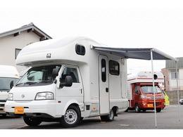 日産 バネットトラック AtoZ製アミティ 4WD 1.8 AT FF インバーター オーニング ソーラー
