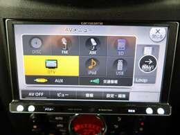 ●DISC/FM/AM/SD/DTV/ipot/USB/AUX使用可能です♪