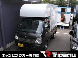 スズキ キャリイ 660 KCスペシャル 3方開 4WD 軽トラ トリパル キッチンカー 2槽シンク