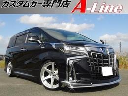 トヨタ アルファード ハイブリッド 2.5 SR Cパッケージ 4WD エグゼクティブシート 21インチ車高調