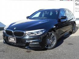 BMW 5シリーズツーリング 530i Mスポーツ 19AW黒革SR地デジACCドラレコ1オナ認定車