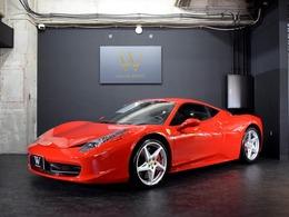 フェラーリ 458イタリア F1 DCT スクーデリアエンブレム/純正20AW/HDDナビ
