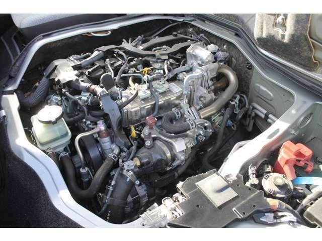2800ccディーゼルターボエンジン(1GD-FTV型タイミングチェーン式)が搭載されています。