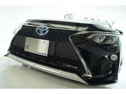 トヨタ カムリハイブリッド 2.5 Gパッケージ 新品スピンドル新品ライト新品車高調アルミ