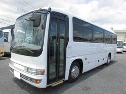 いすゞ ガーラミオ 42人乗り 9M ガーラミオ 貫通トランク モケットリクライニング 自動ドア 冷蔵庫
