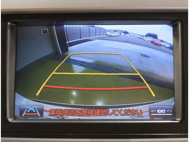 バックガイドモニター機能付きです☆バックする際に後方の様子をカーナビのモニターに表示してくれます!バック駐車がスムーズに行えます(*^^)v