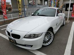 BMW Z4クーペ 3.0si ディーラー車 左ハンドル エアロ
