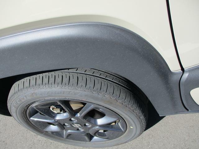 タイヤの溝もバッチリです。雨の日の高速道路も怖くありません。