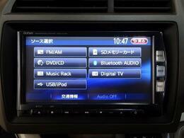 ■ 装備2 ■ FM/AMチューナー|SDカード再生|Bluetooth音楽プレイヤー接続|DVDビデオ、CD再生|音楽サーバー|フルセグTV