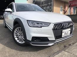 アウディ A4オールロードクワトロ 2.0 4WD 黒革シート 純正ナビ 地デジTV