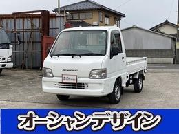 スバル サンバートラック 660 TB 三方開 4WD エアコン 4WD