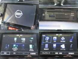 お出掛け嬉しい、純正8型ナビ(フルセグ地デジTV)付です♪DVDビデオ再生機能・音楽録音機能・AUX/USB/Bluetooth接続も可能です♪