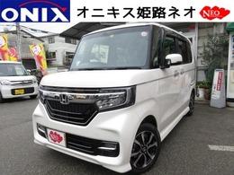 ホンダ N-BOX カスタム660EX 新型新車ナビTVバックカメETCマットバイザ