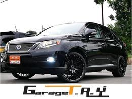 レクサス RXハイブリッド 450h バージョンL エアサスペンション 4WD 黒革 カールソン22AW サンルーフ 地デジTV