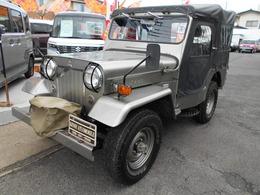 三菱 ジープ ホロ ガソリン車/ウインチ/15インチタイヤ