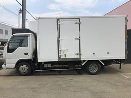 いすゞ エルフバン 冷蔵冷凍車