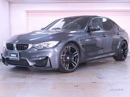 BMW M3セダン M DCT ドライブロジック 黒革 アダプティブMサス 19AW