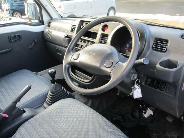運転席まわりはスイッチやレバー等が使いやすく配置されています。
