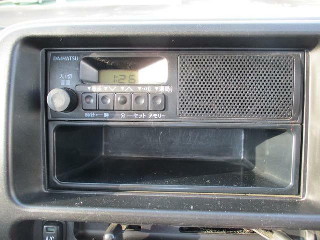 FM/AMラジオがついています。