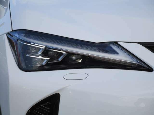 ヘッドライトはカッコいい3眼タイプのLEDライトです!