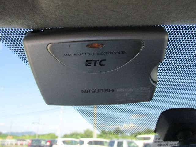 高速道路走行の必需品ETC付きです!