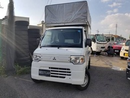 三菱 ミニキャブトラック 660 Vタイプ アルミパネル 幌50cm