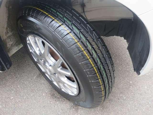 タイヤ新品です!