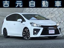 トヨタ プリウスα 1.8 S ツーリングセレクション G's フリップダウンモニター 純正ナビ ETC