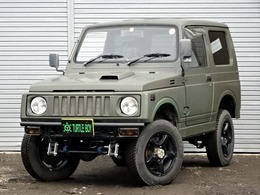スズキ ジムニー 660 スコット リミテッド 4WD マッドグリーン リフトUP 外マフラー