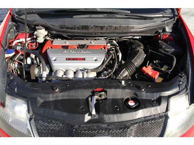ホンダのVTECとVTCによる高知能なバルブ制御により、全域で高性能を生む自然吸気の2.0L DOHC i-VTECエンジン☆各機関状態良好です!納車前に点検整備をしっかり行い、ご納車致します♪