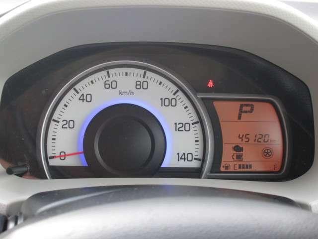 走行距離は、45120kmです。走行管理システムにて、走行距離の改ざんのないことが確認されております。